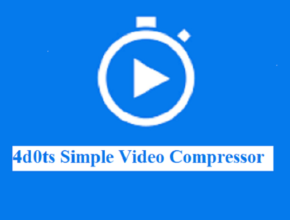 4dots Simple Video Compressor