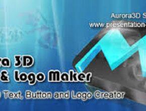 Aurora 3D Text & Logo Maker Crack