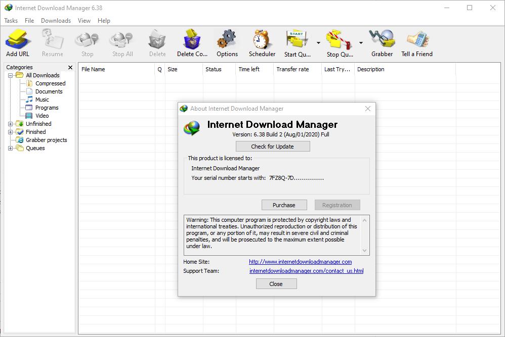 Internet Download Manager 6.38 full crack