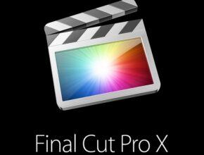 Final Cut Pro X 10